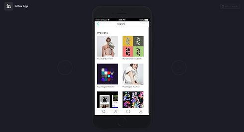 Influx_App Prototype