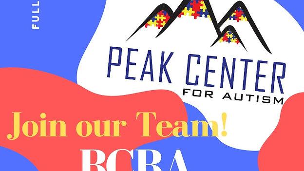 BCBA Position PCFA