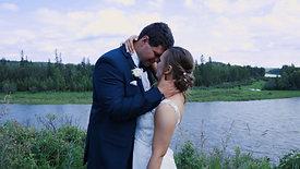 Happy, Joyous Red Deer Wedding - Sarah and Chris