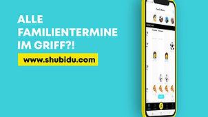 SHUBiDU - Alle Familientermine im Griff?