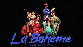 """Divulgação """"Ópera La Bohème"""" de Giacomo Puccini"""