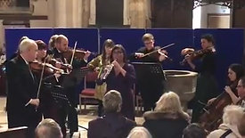 Great Bowden New Years Day Concert highlights - Gabriels oboe + string pieces.