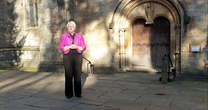 Bishop June continues her Holy Week...
