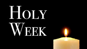 Evening Prayer for Wednesday of Holy Week
