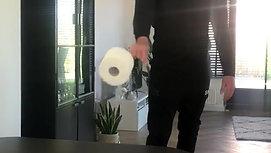 WC rol flip