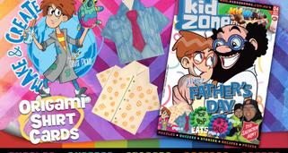 Kz Origami shirt cards