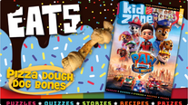 Pizza Dough Dog Bones