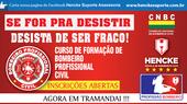 CURSO DE BOMBEIRO PROFISSIONAL CIVIL   AGORA EM TRAMANDAI - RS