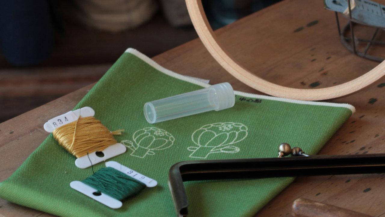 新手玩刺繡 基本繡法