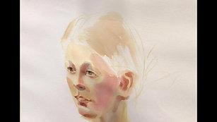 МК портрет Гали