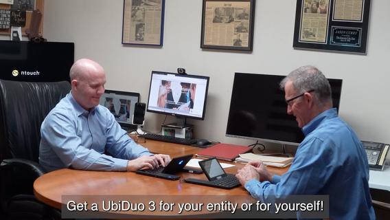 Learn How UbiDuo 3 Facilitates Deaf and Hearing C-Level Corporate Communication