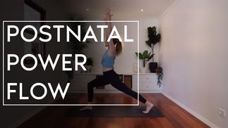 Postnatal Power Flow