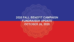 2020 Fall Benefit - Week 4 Update