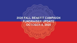 2020 Fall Benefit - Week 2 Update