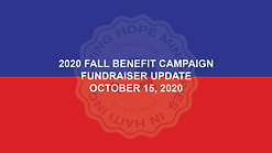 2020 Fall Benefit - Week 3 Update