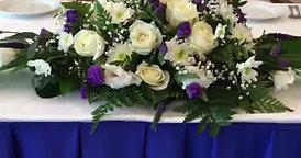 Украшение свадьбы цветами и шарами
