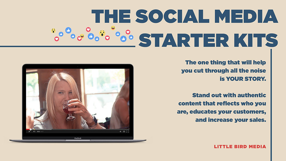 Social Media Starter Kits
