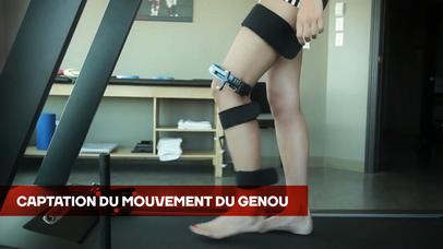 KneeKG | Le harnais capteur de mouvement