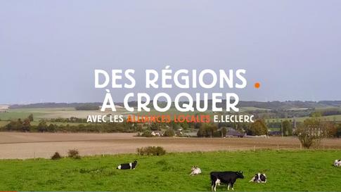 E.Leclerc - Des Régions à Croquer