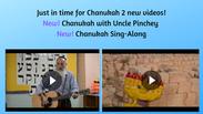 Chanukah Sing-Along