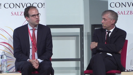Panel Discussion - Convoco Forum 2018: Ideas for the Future of Capitalism, Salzburg, Austria