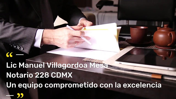 Videos Lic. Manuel Villagordoa Mesa