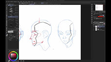 How to Draw A Human Head