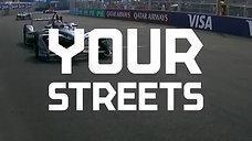 Formula e NYC Promo