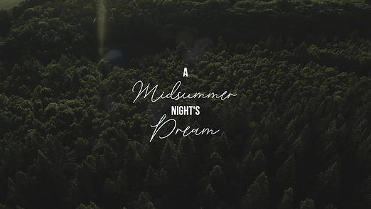 """A Midsummer Night's Dream"" Inspired Shoot"