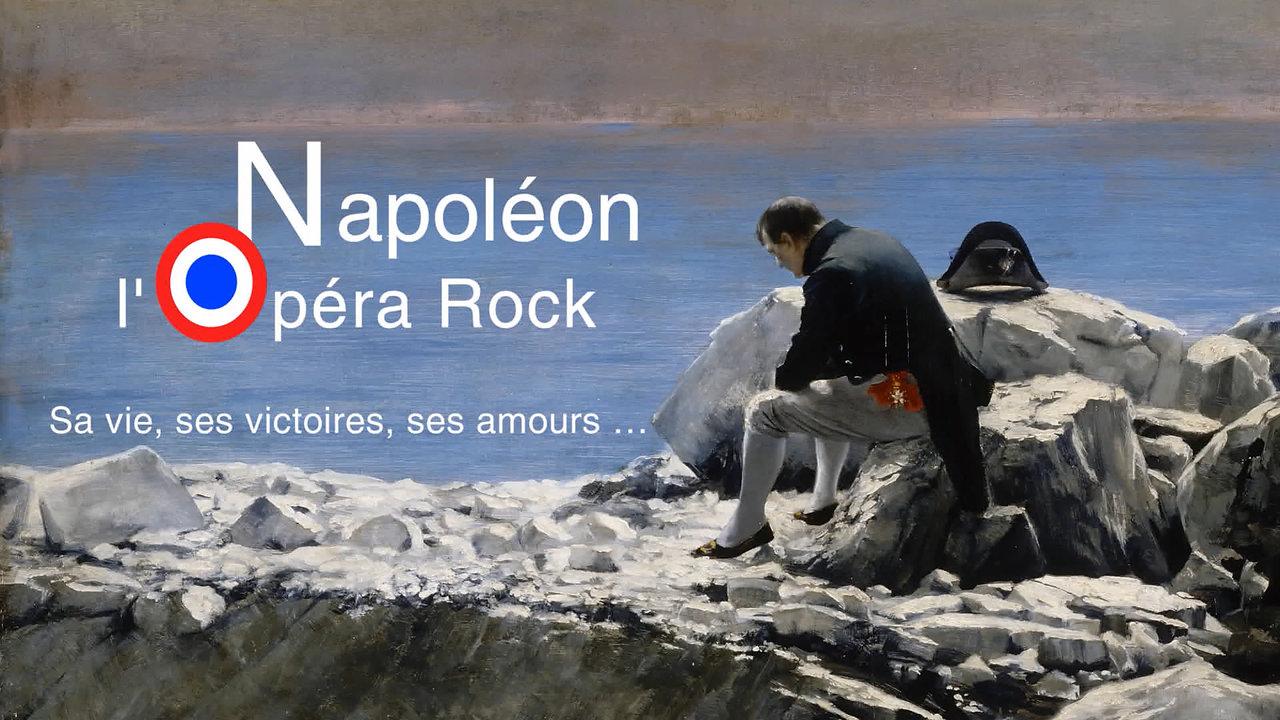 Napoleon l'Opera rock Le Portrait + interview Dimitri Casali - Apprendre l'Histoire par la musique