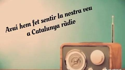 Professionals de la Narració Oral de Catalunya. Catalunya Ràdio 7.5.2020