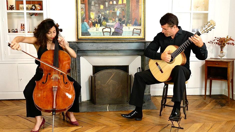 Astrig Siranossian et Emmanuel Rossfelder