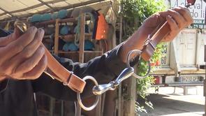 Bourrellerie : Fabriquer des montants de mors