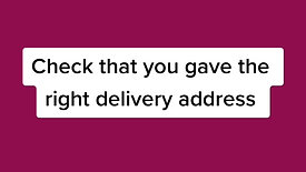 Ordered something and it hasn't arrived?