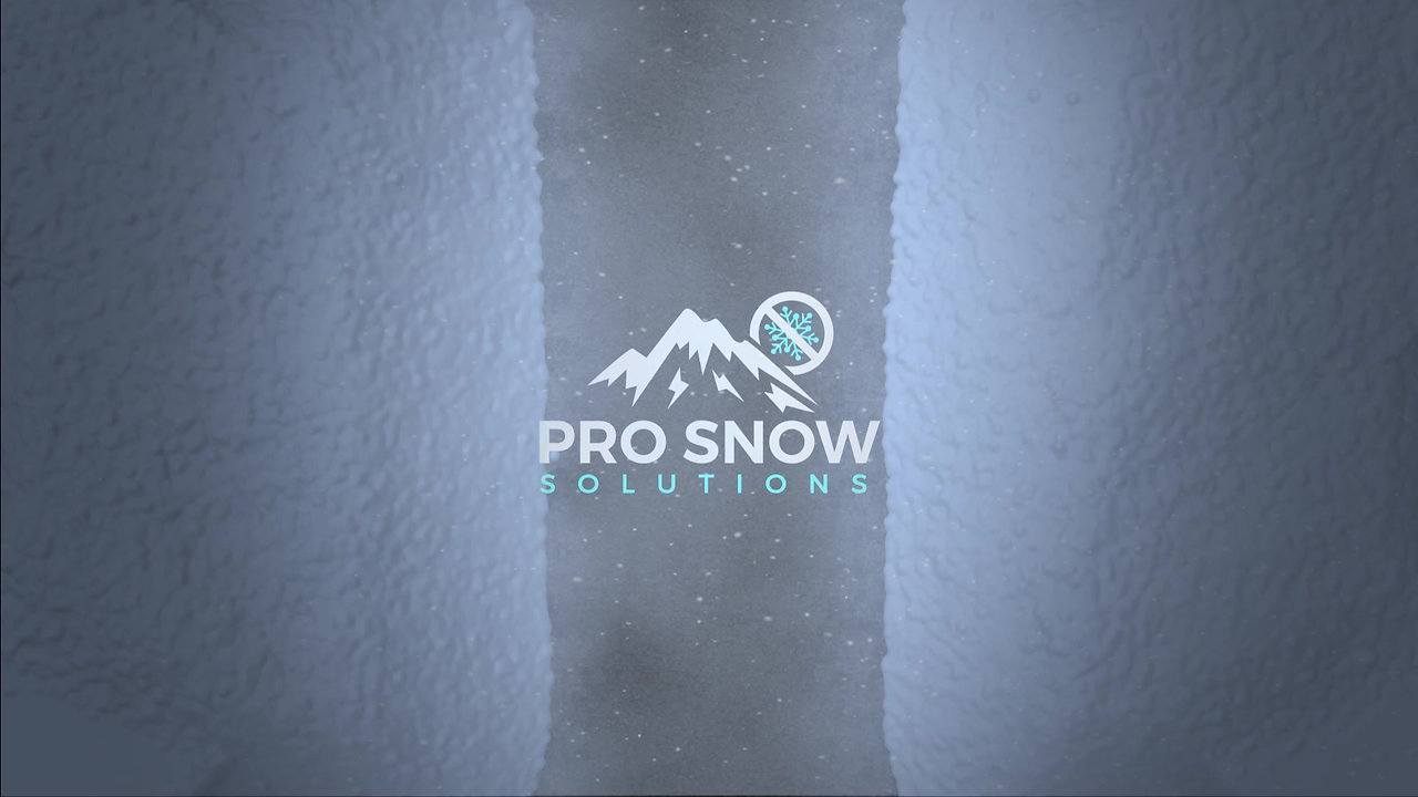 Pro Snow Solutions Logo Animation