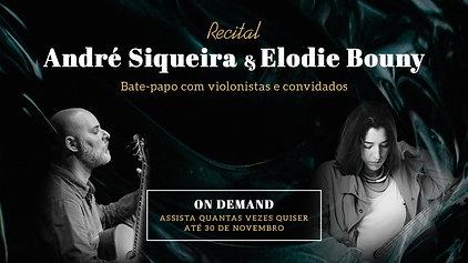 André Siqueira e Elodie Bouny