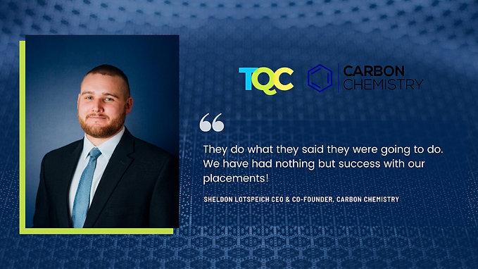 Testimonial - Carbon Chemistry