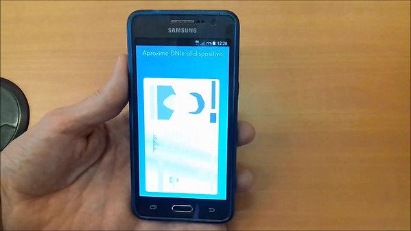 Uso DNIe 3.0 mediante NFC