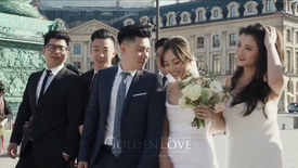 Wed'in Paris-Yu Jin and Micka-Golden love