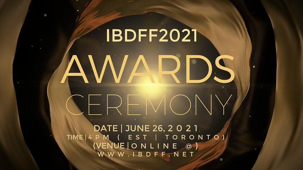 IBDFF2021 AWARDS PRESENTATION Online