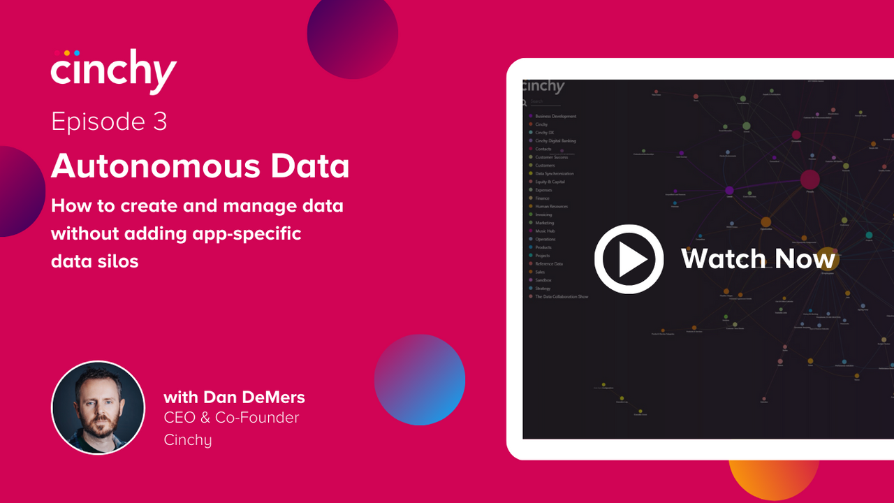 Episode 3: Autonomous Data: How to Create and Manage Data Without Adding App-Specific Data Silos