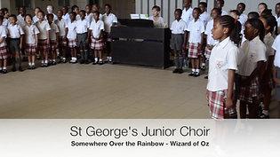 Junior Choir 2017 - rainbow