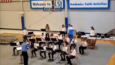 Upper Hall Band and Choir