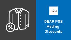 DEAR POS - Adding Discounts