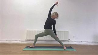 Cathy - Intermediate Vinyasa Flow - Practice with me (38 mins)