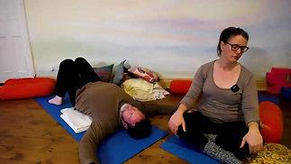 Claire: Relaxing Restorative Yoga (1hr 8mins)