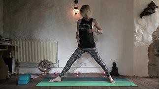 Cathy: Hatha Yoga (21mins)