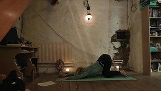 Cathy: Twisting Into the New Year (Hatha Yoga) (1hr)
