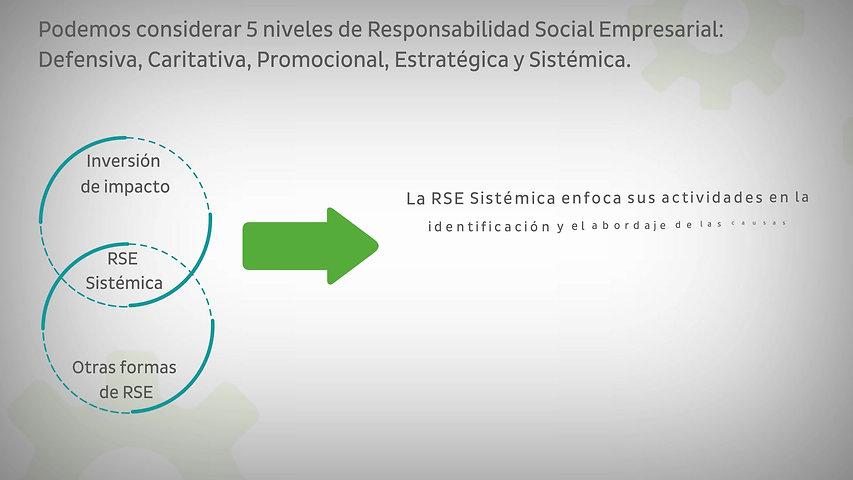 8. PUEDE LA RESPONSABILIDAD SOCIAL EMPRESARIAL SER CONSIDERADA INVERSIÓN DE IMPACTO