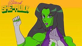 SHE HULK animation loop